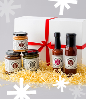 The Ultimate Mexican Sauces Gift Box