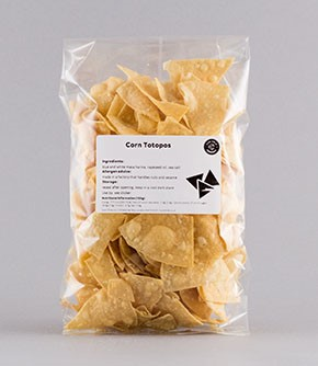 Totopos 200g (tortilla chips)  Save 10%