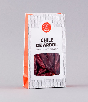 Chile de Arbol 20g Whole Dried Chillies
