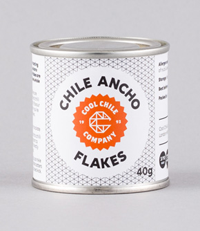 Ancho Chilli Flakes 40g