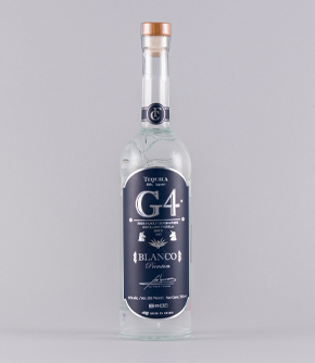 G4 Tequila Blanco 75cl bottle