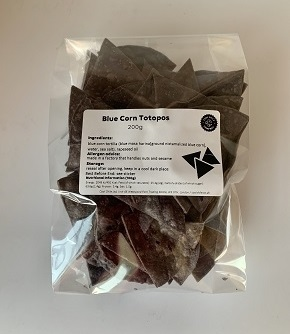 Blue Totopos 200g (tortilla chips)