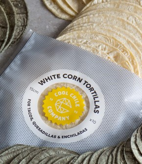 Soft White Corn Tortillas 15cm x 10