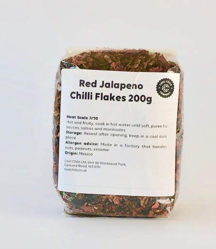 Red Jalapeno Chilli Flakes 200g