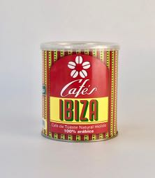 Ibiza Coffee 100% Ground Arabica 250g tin