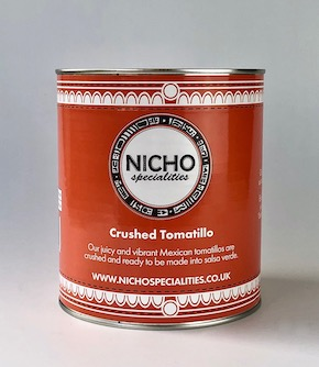 Limited to 2 Tins per Order - Crushed Tomatillos 2.8KG Tin