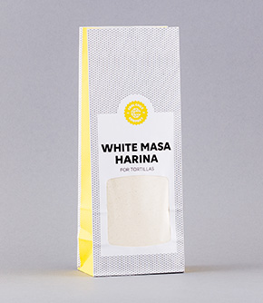 White Masa Harina for Tortillas  500g