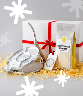 Tortilla Making  Kit Gift Box