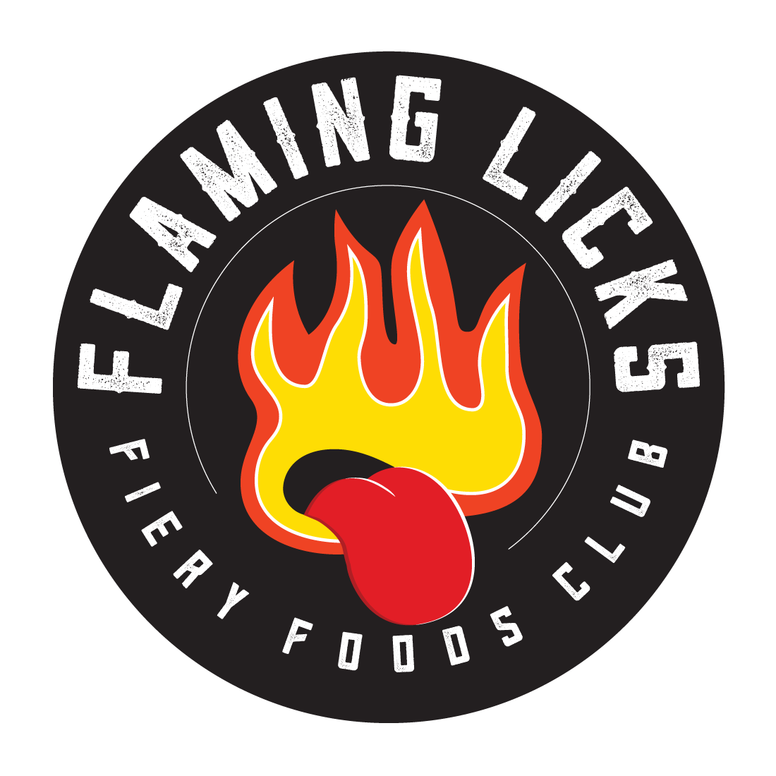 Flaming Licks Wimborne Chilli Shop logo
