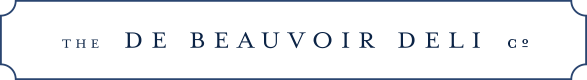 The De Beauvoir Deli Co. logo